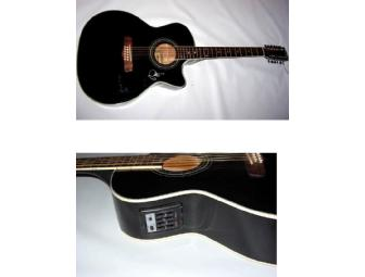 PATTY GRIFFIN Autographed 12 String Acoustic Guitar