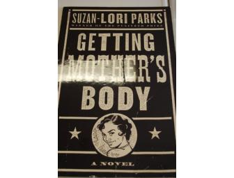Signed poster: Suzan-Lori Parks' 'Getting Mother's Body'