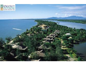 FIVE DAYS IN EXOTIC FIJI - AIR PACIFIC + FIVE (5) NIGHT STAY @ SONAISALI ISLAND RESORT