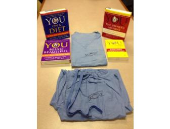 Signed Scrubs & Books from America's Doctor, Dr. Oz