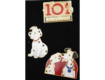 101 Dalmations Disney Pin Set