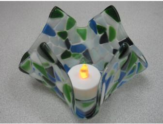 Fused Glass Candle Gift Bag