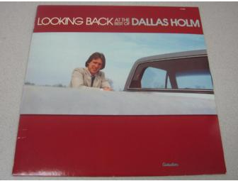 'Looking Back at the Best of Dallas Holm' Vinyl Album