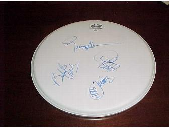 AAllman Brother Autographed Drum Head