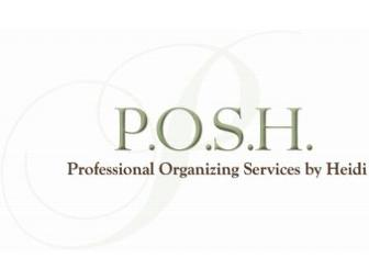Professional Organizing Services for Your Home or Office